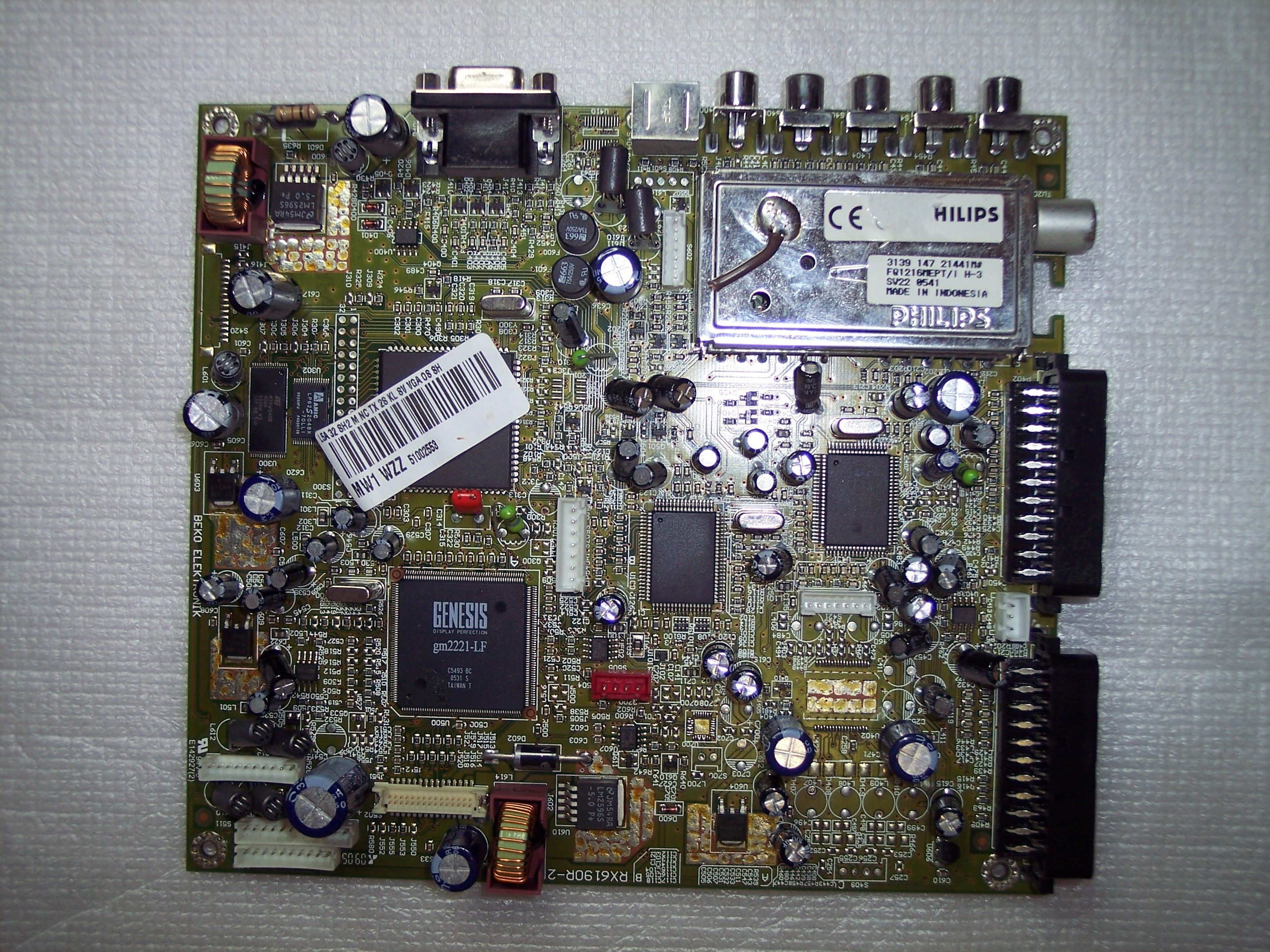 RX6190R-2 TV MATRIX 32LCL94