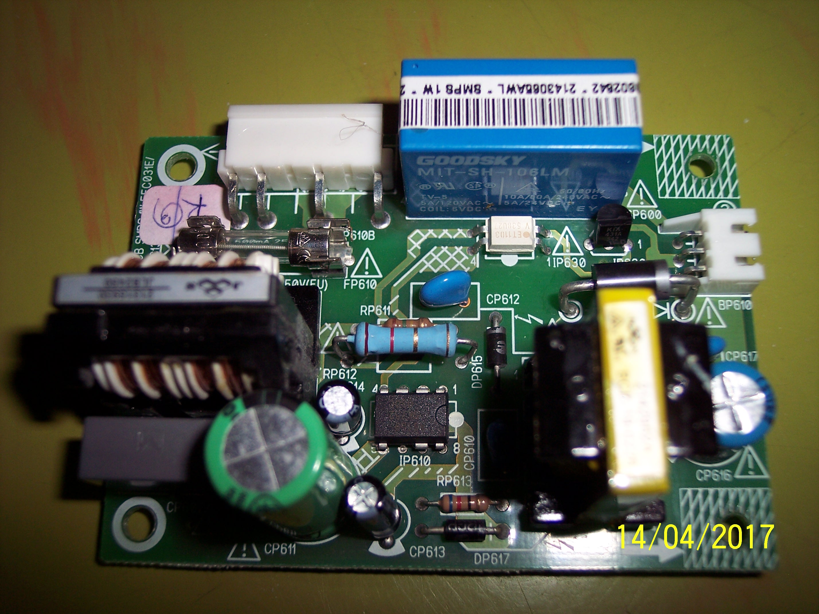 EFC031E IFC130/IFC230 STANDBY POWER SUPPLY LCD TV THOMSON